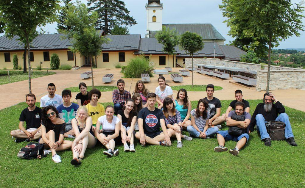 Učesnici Škole meteorske astronomije 2016